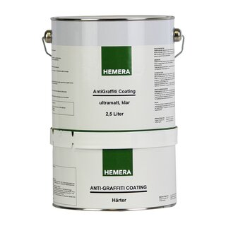 HEMERA AntiGraffiti Coating ultramatt klar 2,5L